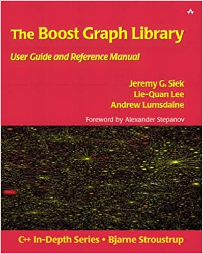 Amazon com: The Boost Graph Library: User Guide and