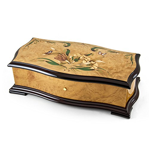Exquisite 144 Note Sublime Harmony Reuge Music Box -