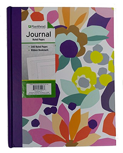 (PlanAhead Jumbo Bound Journal; 340 Ruled Pages With Ribbon Bookmark; Color May)