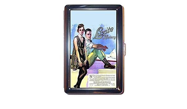 Pin Up Girl Retro Ad medias piernas 1918 Luxite ID cartera o funda para cigarrillos hechas en Estados Unidos.: Amazon.es: Oficina y papelería