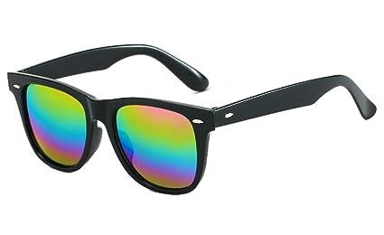 DaQao - Gafas de sol clásicas y rectangulares para mujeres ...