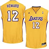 NBA Los Angeles Lakers Replica Jersey, #12 Dwight Howard, Gold, Large