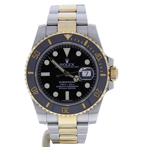 Rolex Submariner automatic-self-wind mens Watch 116613 (Certified Pre-owned) (Authentic Men For Rolex Watches)