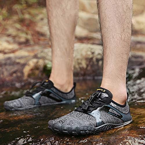 夏の上流の靴は、靴にアウトドアシューズハイキングシューズダイビングシュノーケリング女性の速乾性シューズウォーターシューズ男性ウェイディングシューズシューズ ポータブル (色 : Gray, Size : US6)