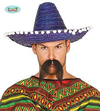 Sombrero Mejicano 45cm Azul - Sombreros e55e28b5631