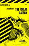 The Great Gatsby, Cliffs Notes Staff, 0822005603