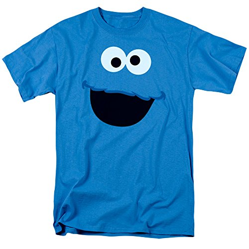 (Sesame Street Cookie Monster T Shirt & Exclusive Stickers)