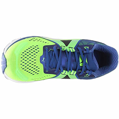 Puma Womens Speed 600 Ignite Top Sneaker In Pizzo Verde / Blu