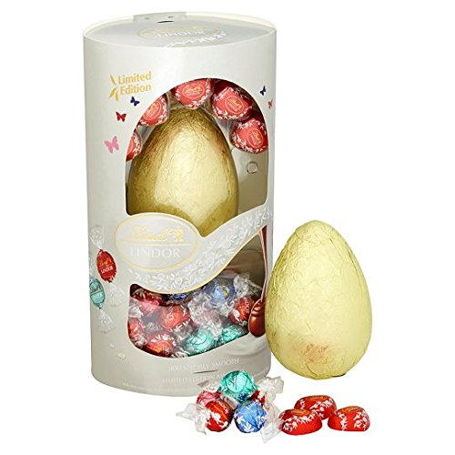 Lindt Giant Milk Chocolate Easter Egg With Assorted Lindor