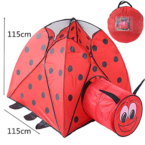 Kids Play Tunnels Creative Beetle Tunnel Play Tent Children Kids Summer Indoor Outdoor Foldable Playhouse Pop Up Tunnel Gift Toy by Sviper (Image #2)