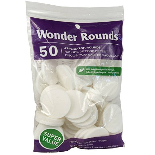 Review Wonder Rounds 50 Count Cosmetic Puff