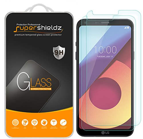 [2-Pack] Supershieldz For LG Q6 Tempered Glass...