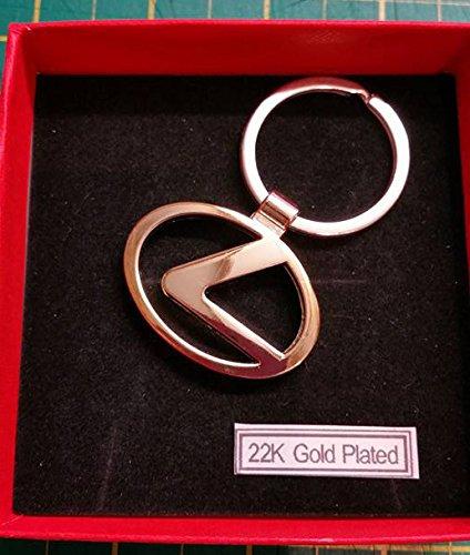 22 K chapado en oro LEXUS llavero de METAL llavero con coche ...