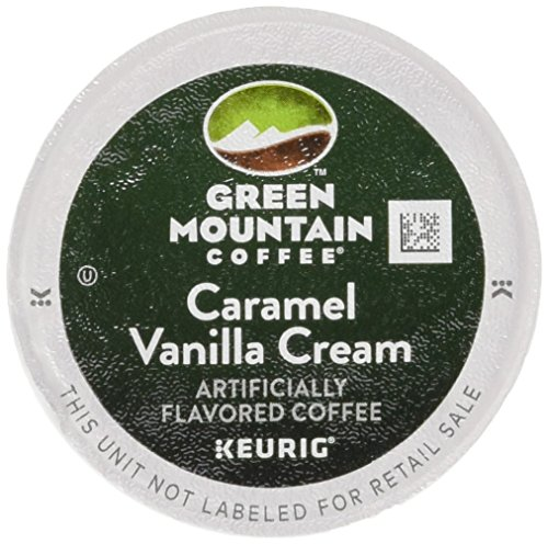 Green Mountain Coffee K-Cups, Caramel Vanilla Cream K-Cup Allocation Pack for Keurig Brewers 96-Count