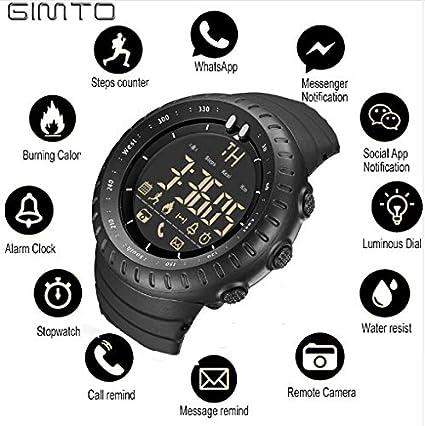 Amazon.com: GIMTO ChicChillShop - Reloj inteligente para ...