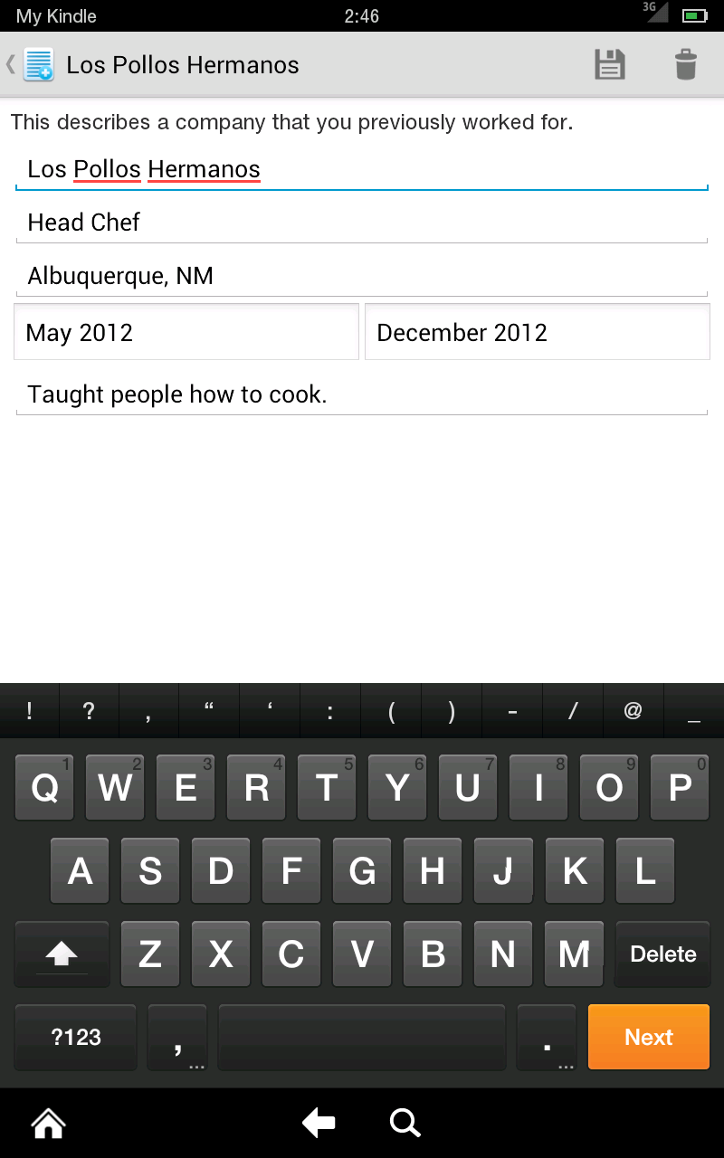 Amazon  Resume Builder Pro