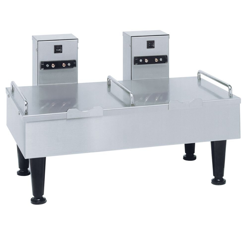 Amazon.com: BUNN 27875 Stainless 2-Position Soft Heat Serving Stand ...