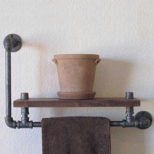 Vintage Industrierohre Kreative Wand Dekoration Badezimmer Mit