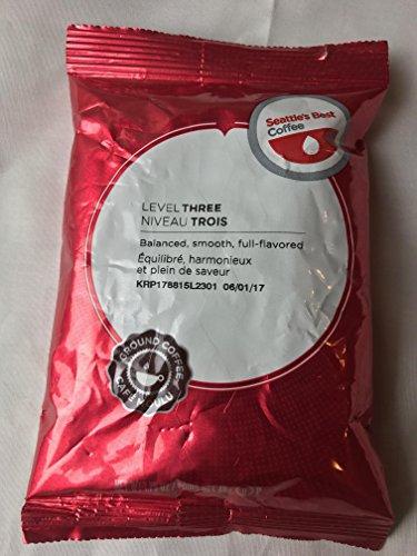 Seattle's Best Coffee SEA11008558 Level 3 Best Blend Ground Coffee (Pack of 18) (Seattles Best Blend Coffee Ground)