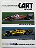 img - for CART 1988-89. The Men and Machines of Indy Car Racing. 1988. Cloth with dustjacket. book / textbook / text book
