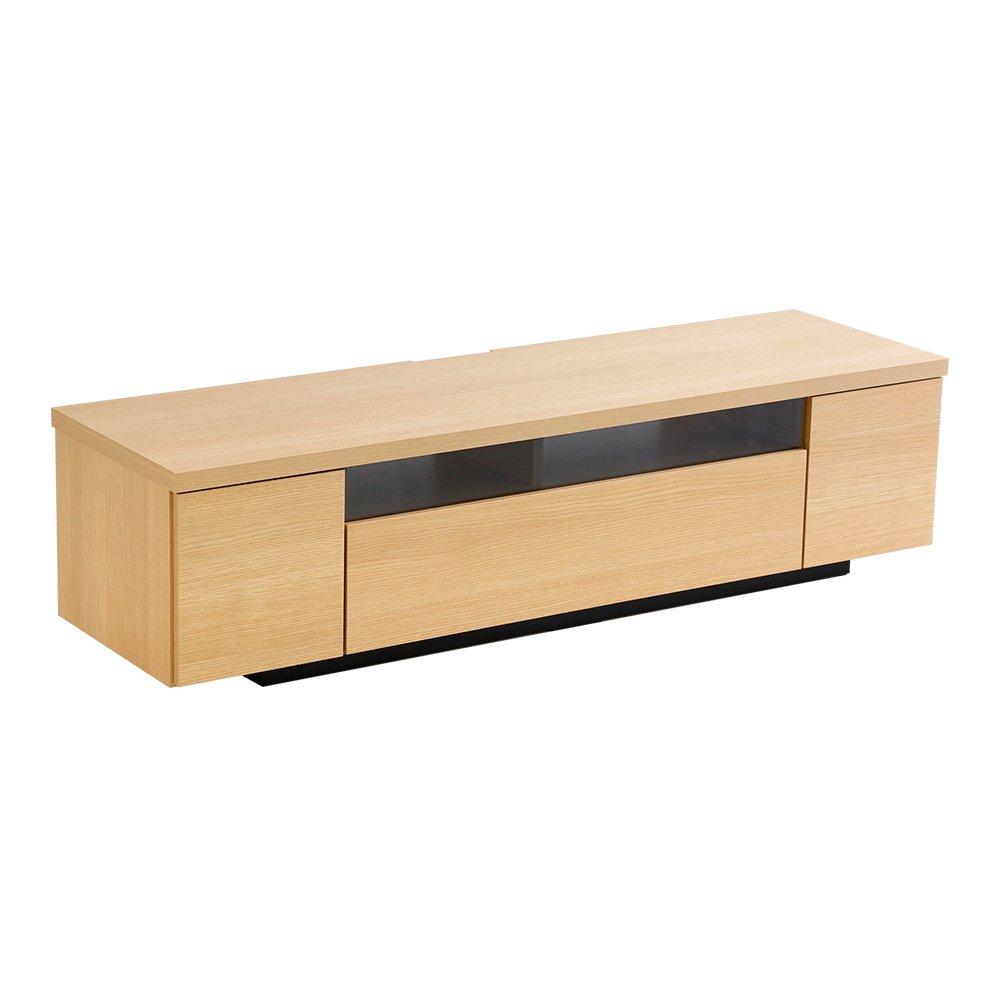 完成品テレビ台テレビボード ナチュラル 幅140cm(日本製木目)シンプルで美しいスタイリッシュ! B01N7MAGK0 幅140cm|ナチュラル ナチュラル 幅140cm