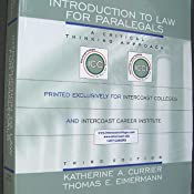Intro to law for paralegals a critical thinking approach third customer image fandeluxe Image collections
