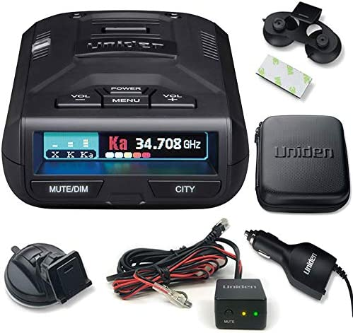 Uniden R3 Extreme Long Range Radar Laser Detector GPS, 360 Degree, DSP, Voice Alert Plus Hard Wire Kit