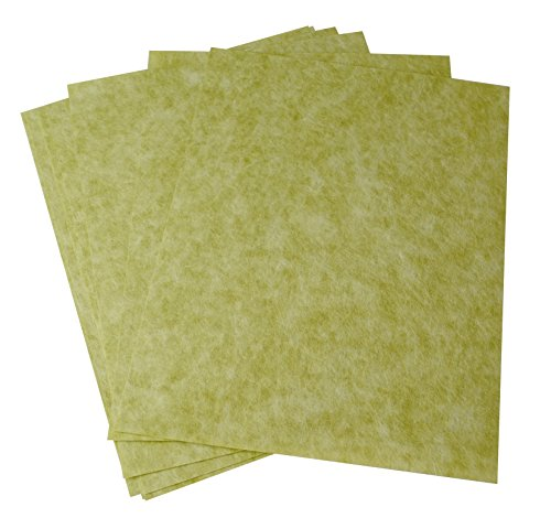 10 Pack 3M Green Wet or Dry Tri-M-Ite Polishing Papers 30 Micron 400 Grit Jewelry Making Abrasive Sheets