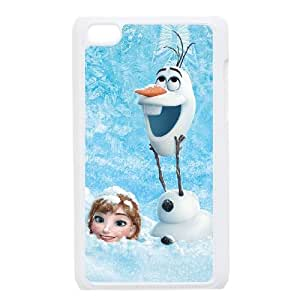 iPod Touch 4 Case White Frozen 008 IX7611038