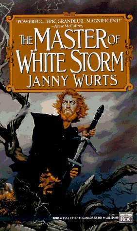 book cover of The Master of White Storm