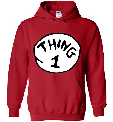 Thing 1 And Thing 2 Hoodies (Thing 1 Hoodie)