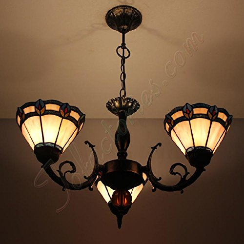 ETERN Continental Retro Minimalist Chandeliers Pendant Light With 3 Lights