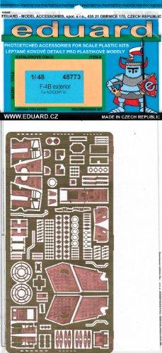 1:48  PE - F-4B Phantom Exterior Detail Set (for the Academy model kit - Eduard EDU48773