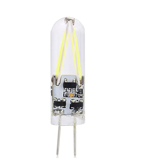 LEDMOMO Mini Bombilla LED G4 AC / DC 12V COB LED de Ahorro de Energía 12V