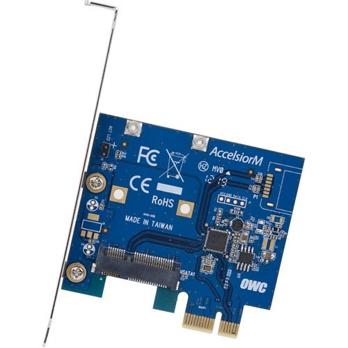 OWC / Other World Computing Mercury AccelsiorM PCIe mSATA PCIe Controller Card for Mac Pros and PCs by OWC