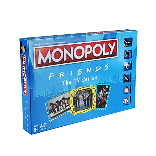 MONOPOLY: Friends The TV Series Edition Board Game for Ages 8 and Up; Game for Friends Fans (Amazon Exclusive)