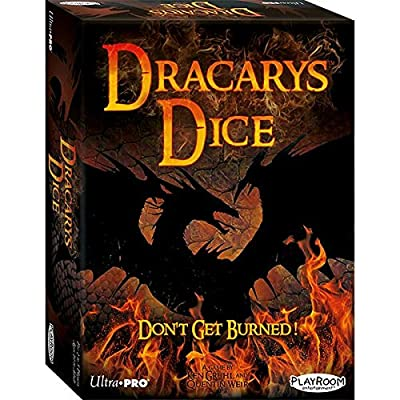 Playroom Entertainment Dracarys Dice: Don't Get Burned!: Toys & Games