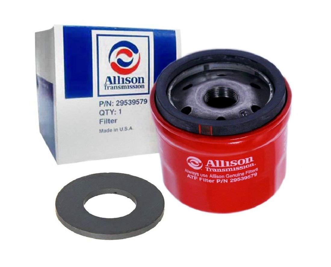 Amazon.com: Allison 29539579 Screw-on Filter with Magnet Filter Kit  replacing filter for Allison transmission per OEM Specs: Automotive
