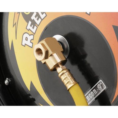 Pentagon Tools 3260 Reel Kwik Air Hose Reel, 100' by Pentagon Tools (Image #4)