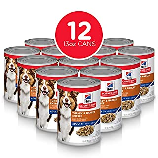 Hill's Science Diet Wet Dog Food, Tur key&Barley, 13 oz, Pack of 12, Model:7057