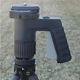 Ultrec Pistol Grip Ball Head Mount for Spotting Scopes & Cameras, Large, 360deg. Rotation, 6.6lbs (3kg) Load Capacity