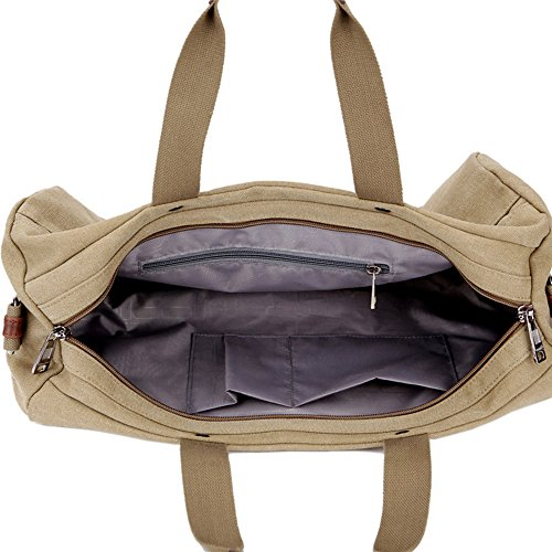 Foldable color Travel Gimitunus And Bag Strong Large Khaki Extra Khaki Shopping Bag Duffle Storage dw4xHp1w