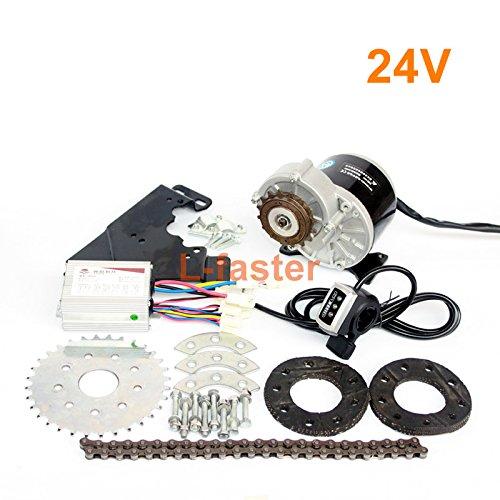 350ワット新しい到着電動自転車モーターキット電動ディレイラーエンジンセット可変倍速自転車電動キット [並行輸入品] B0768SVKW324V Thumb Kit