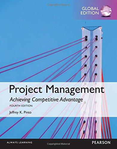 Project Management: Achieving Competitive Advantage (Achieving Competitive Advantage compare prices)