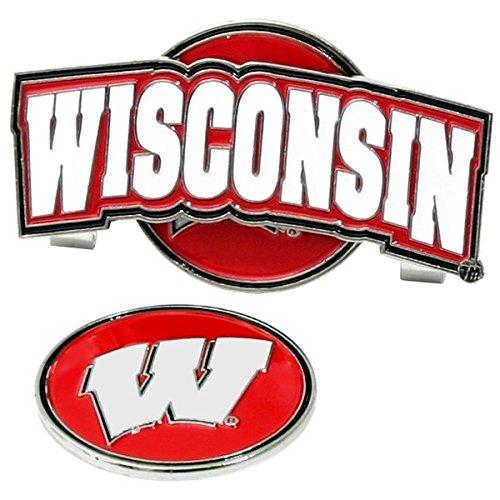 Wisconsin Badgers Golf Slider Hat Clip Wisconsin Badgers Hat Clip