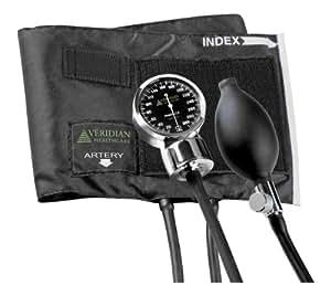 Veridian 02-1002 Aneroid Sphygmomanometer, Large Adult