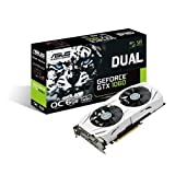 ASUS DUAL-GTX1060-O6G Gaming Graphic Card GeForce GTX 1060 6GB, Dual-Fan, OC Edition, VR Ready, Dual HDMI, DisplayPort 1.4