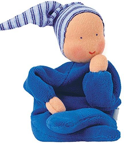 Kathe Kruse - Nickibaby Doll, Blue