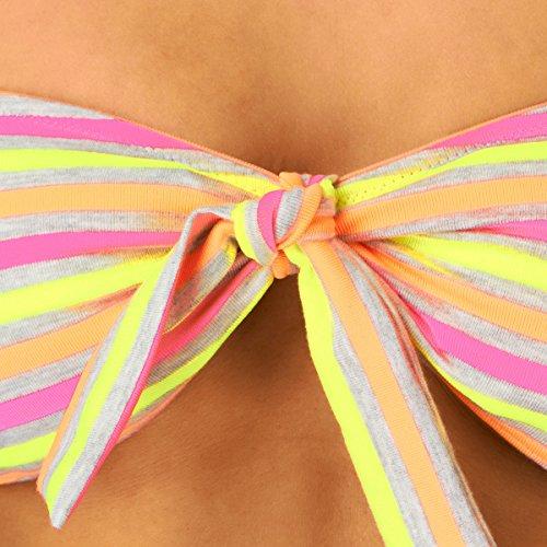 O'Neill - Bikini para mujer multicolor