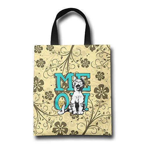 Handbags Cats Meowing Hand Bag Pretty